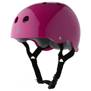 Шолом Triple Eight Brainsaver Glossy Helmet with Sweatsaver Liner - Шолом Triple Eight Brainsaver Glossy Helmet with Sweatsaver Liner