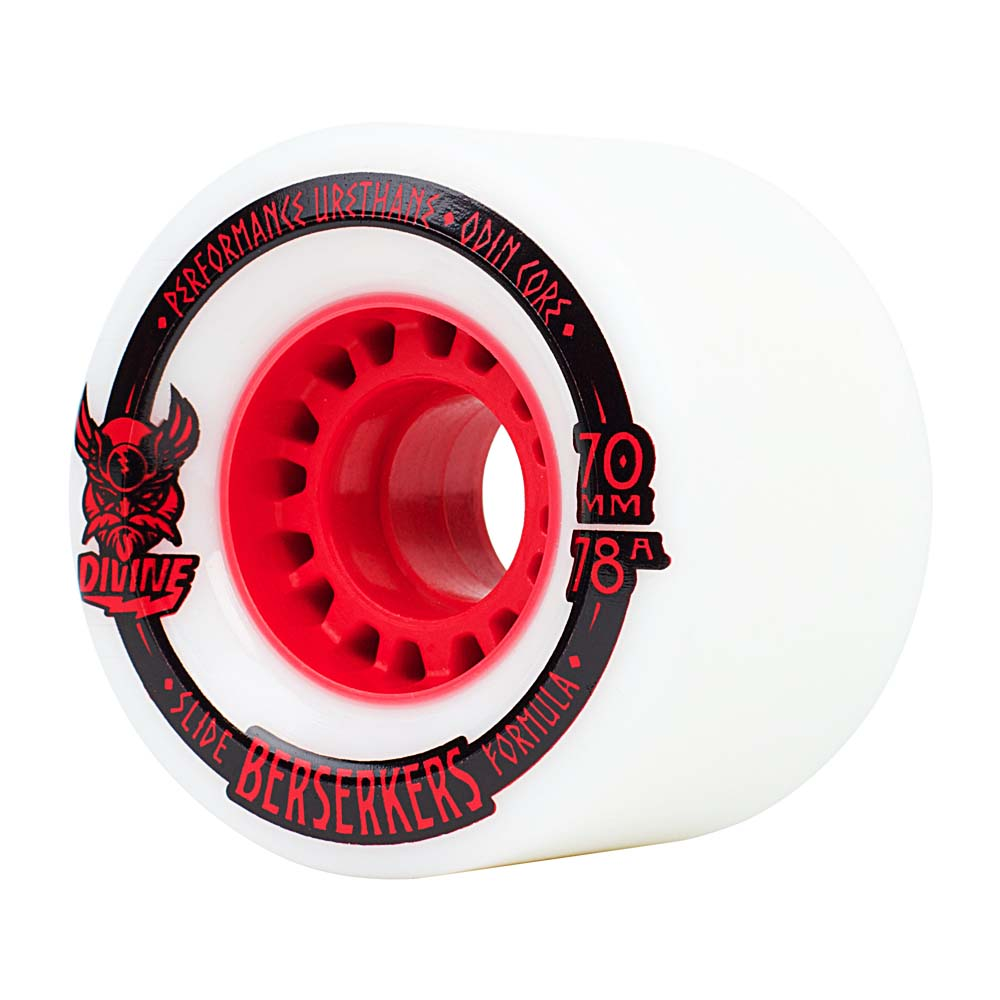 Комплект коліс для лонгборду Divine Wheel Co. Berserkers 70mm/78a
