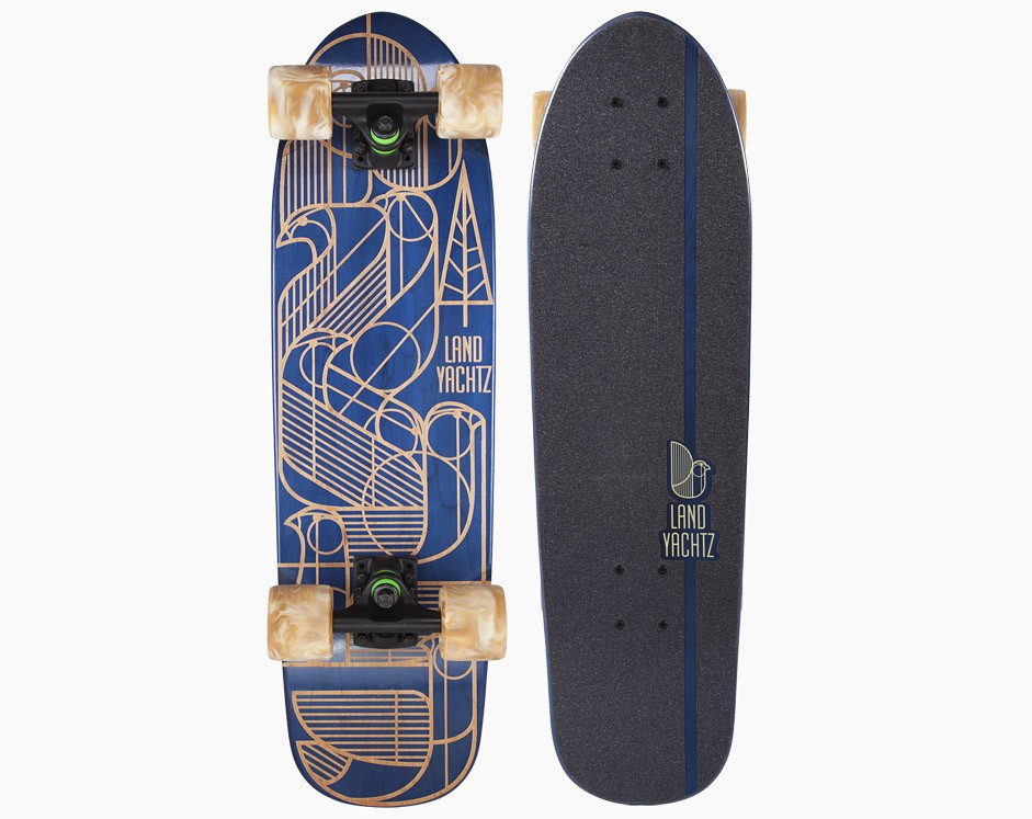 28,5″ Landyachtz Dinghy Birds Deco