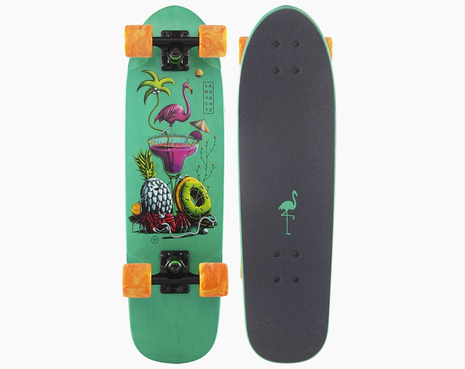 28,5″ Landyachtz Dinghy Flamingo Martini
